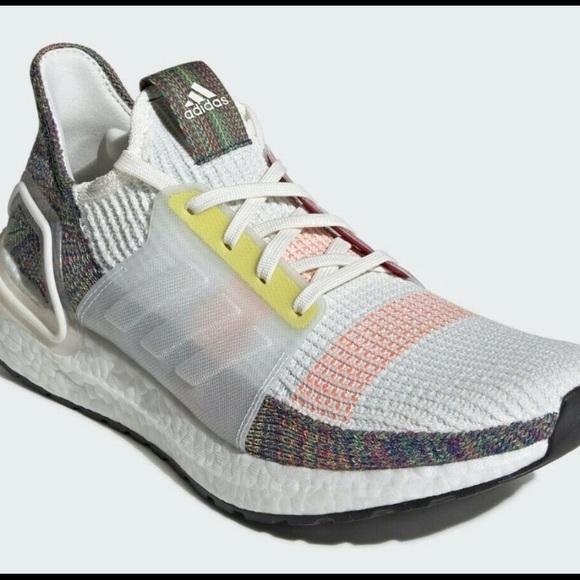 Adidas Ultraboost 19 Pride Shoes Mens 8.5
